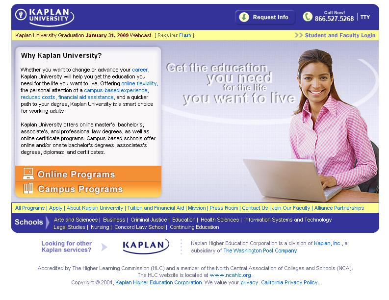 Kaplan University Scholarship Getting Accepted Into Kaplan U